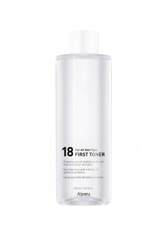 A'PIEU 18 First Toner (500ml)