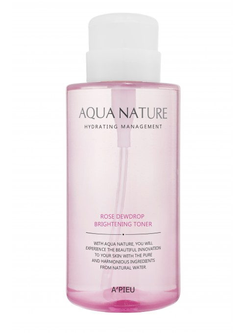 A'PIEU Aqua Nature Rose Dewdrop Brightening Toner