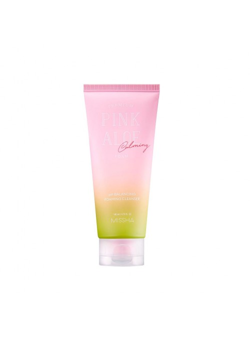 PREMIUM PINK ALOE PH BALANCING FOAMING CLEANSER