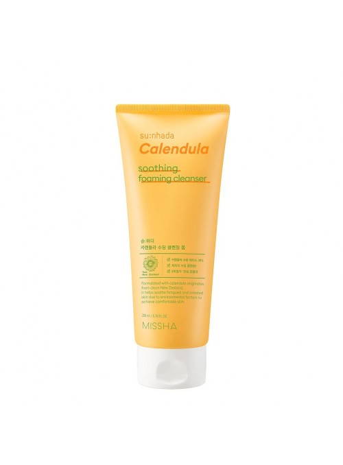 SU:NHADA CALENDULA SOOTHING FOAMING CLEANSER