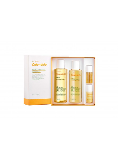 SU:NHADA CALENDULA PH 5.5 SOOTHING SPECIAL SET