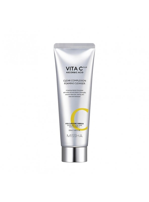 VITA C PLUS CLEAR COMPLEXION FOAMING CLEANSER